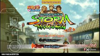 Jeu Naruto Shippuden ultime Ninja Storm Revolution (Mod) PPSSPP Pour Android