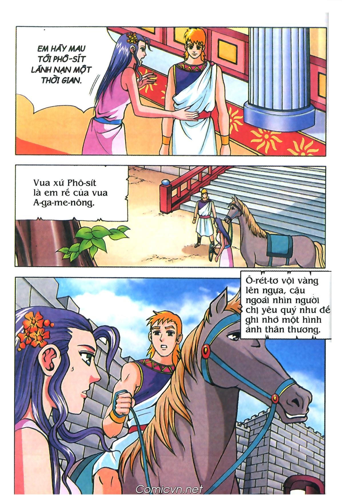 Thần Thoại Hy Lạp Màu - Chapter 70: Nàng Ê lếch tơ - Pic 21
