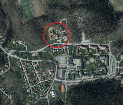 Kartbild över planområdet