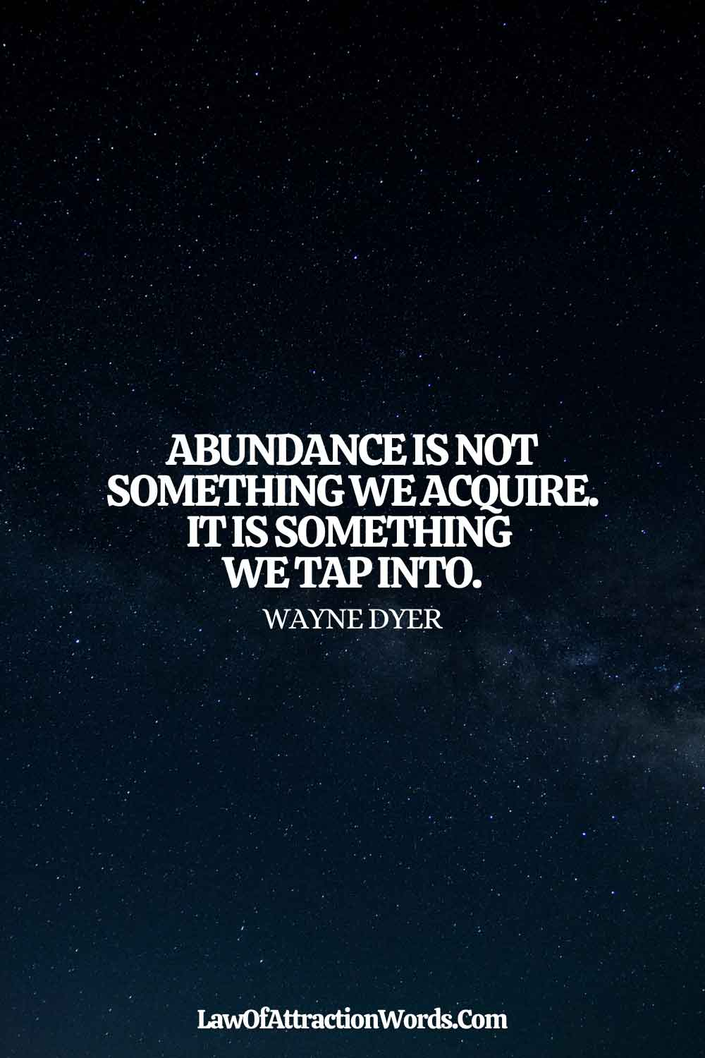 Wise Law Of Attraction Quotes Money