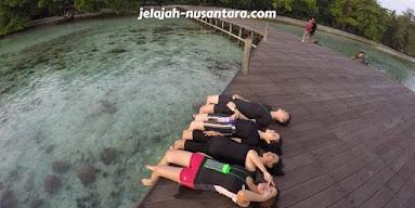 wisata pantai pulau bulat