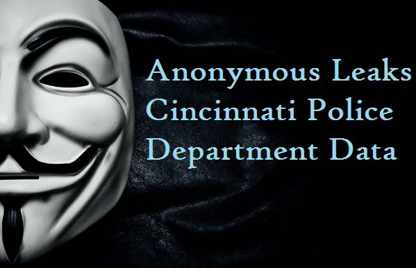 Hacktivist Group Anonymous Leaks Cincinnati Police Department Data