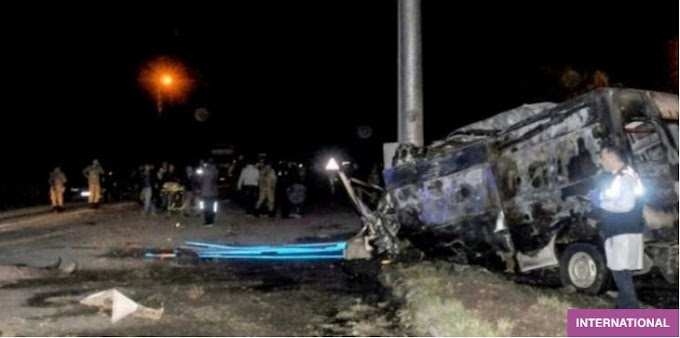 Vans crash in Iran murdered 28 Afghan nationals