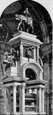 Wellington memorial in St Paul's Cathedral from A history of England by HO Arnold-Forster (1913)