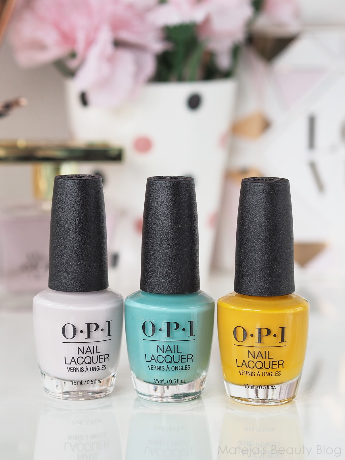 OPI Nail Lacquers Lisbon Spring/Summer Collection