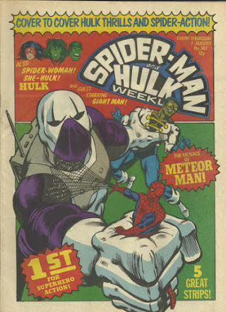 Spider-Man and the Hulk Weekly #387, Meteor Man