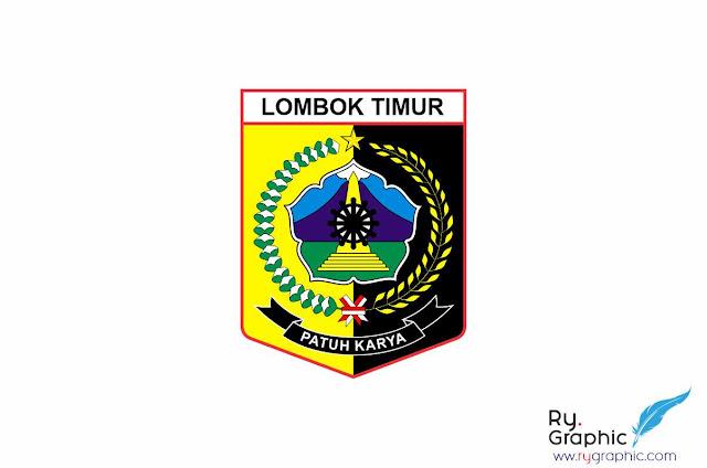 Logo Kabupaten Lombok Timur Vektor CDR Eps & Ai