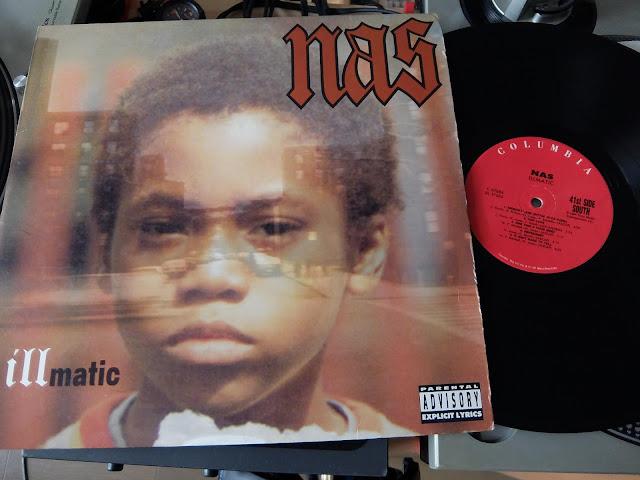 NasのIllmaticのレコードです。
