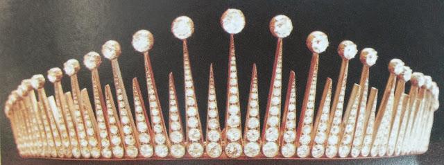 diamond fringe tiara selangor malaysia tengku ampuan queen rahimah