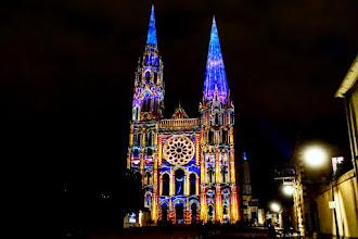 Ailleurs : Chartres en lumières, découverte du patrimoine chartrain sous un angle radieux  - Jusqu'au 3 janvier 2021