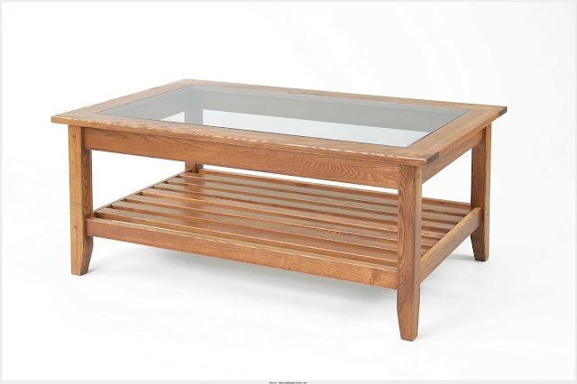 Wonderful Glass Wood Coffee Table Photograph