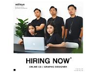 Lowongan Kerja di Adilaya - Solo (Online Customer Service dan Graphic Designer)