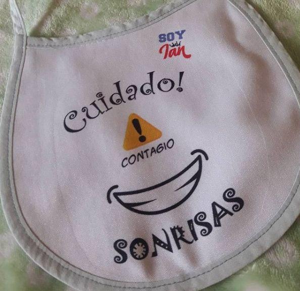 Baberos para niños personalizados
