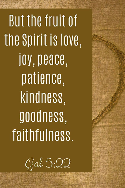 Bible Verse | But The Fruit Of The Spirit Is Love, Joy, Peace, Patience, Kindness, Goodness, Faithfulness