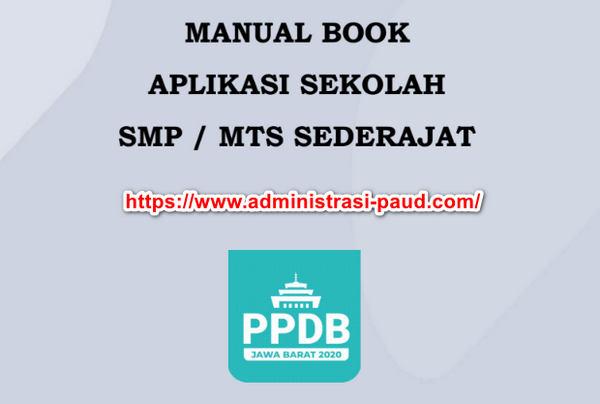 Buku Panduan PPDB Tahun 2020 Provinsi Jawa Barat