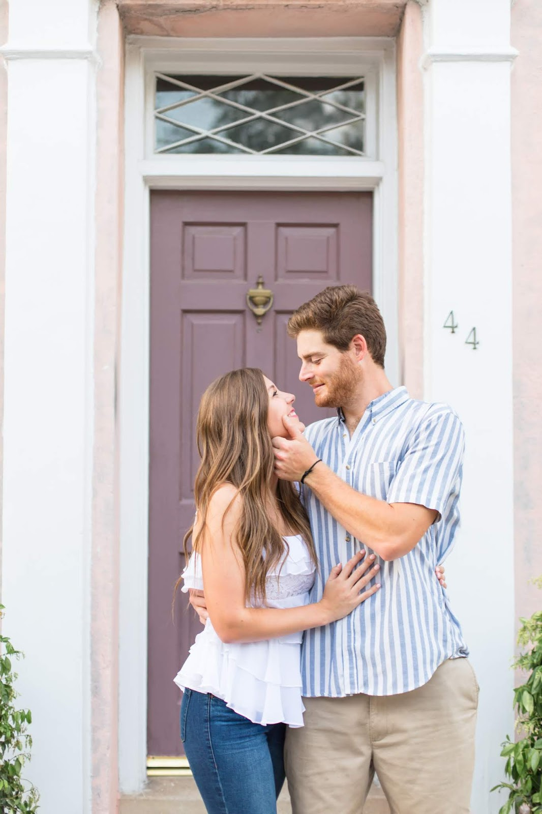Downtown Charleston, SC Engagement Photoshoot Session - Chasing Cinderella