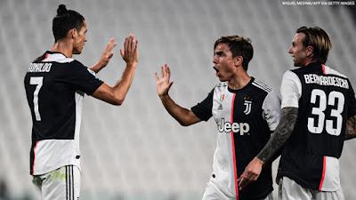 """Video Juventus 4-0 Lecce: Ronaldo """"nổ súng"""", tưng bừng hiệp hai"""
