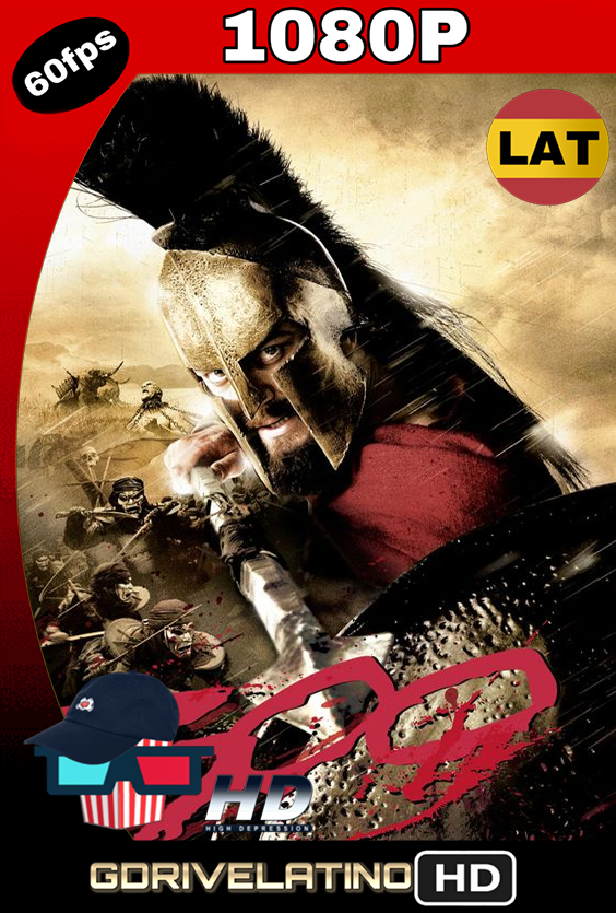 300 (2006) BDRip 1080p Latino-Inglés MKV