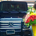 Chika Ike gifts herself with G wagon for birthday (Photo)