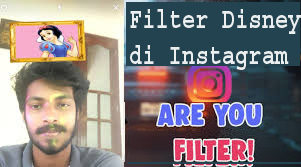 Filter Disney di Instagram 1