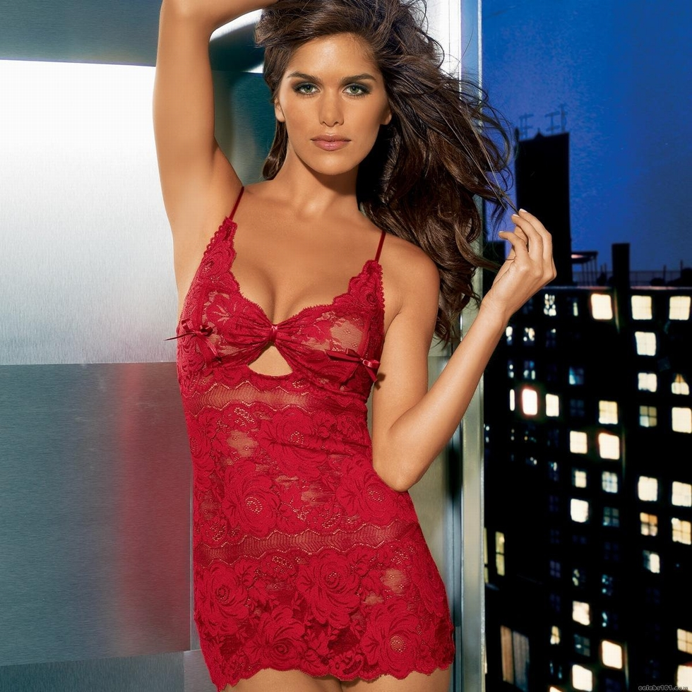 Anahi Hot hollywod days: anahi gonzales in lingerie photoshoot
