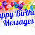 Happy Birthday Messages - Top #100+ Happy Birthday Messages