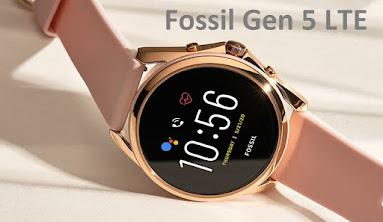 ساعة فوسيل Fossil Gen 5 LTE الذكية