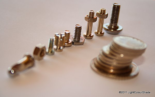 Nuts, bolts and coins