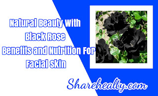 Natural Beauty With Black Rose: Benefits and Nutrition for Facial Skin