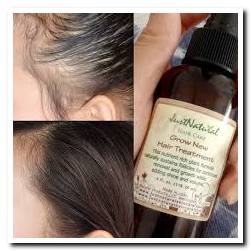 just natural skin care reviews grow new hair