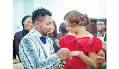 orits3 - ENTERTAINMENT: Oritsefemi Shares Romantic Kiss With His Wife To Celebrate 4th Month Wedding Anniversary (Photos)