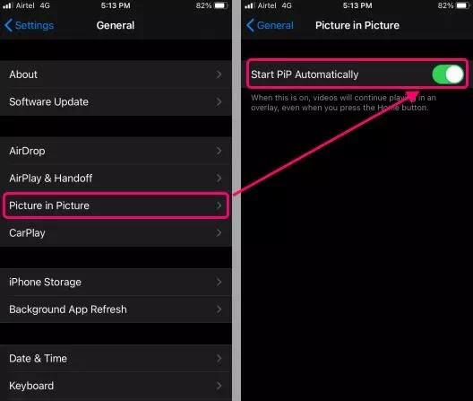 cara mengaktifkan Picture-in-Picture di iPhone-2