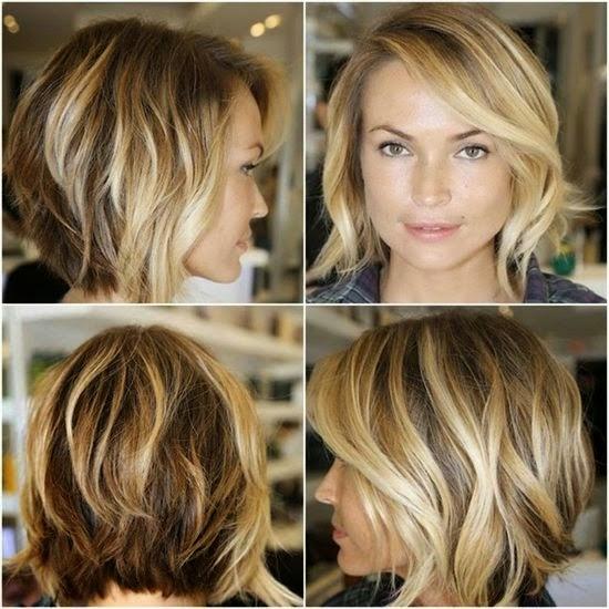 Frisuren Damen Halblang Gestuft Mittellange Haare