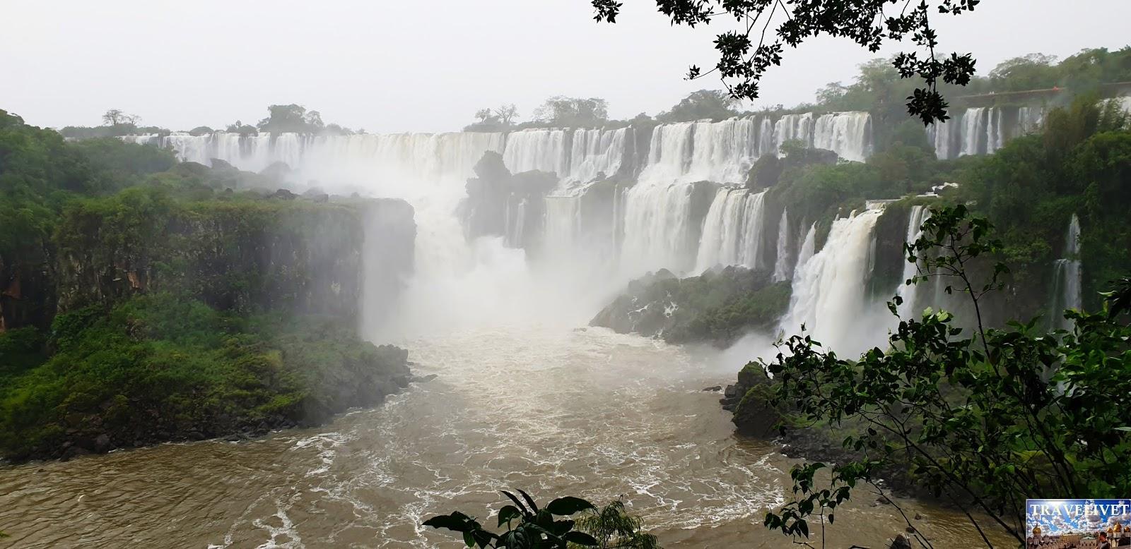 2019 Les chutes d'Iguazu du côté Argentine