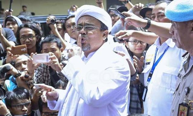 Tersangka, Habib Rizieq Syihab Terancam 6 Tahun