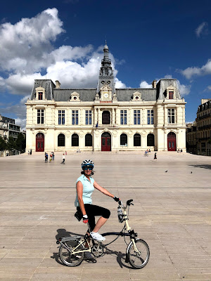 French Village Diaries cycling post confinement Poitiers