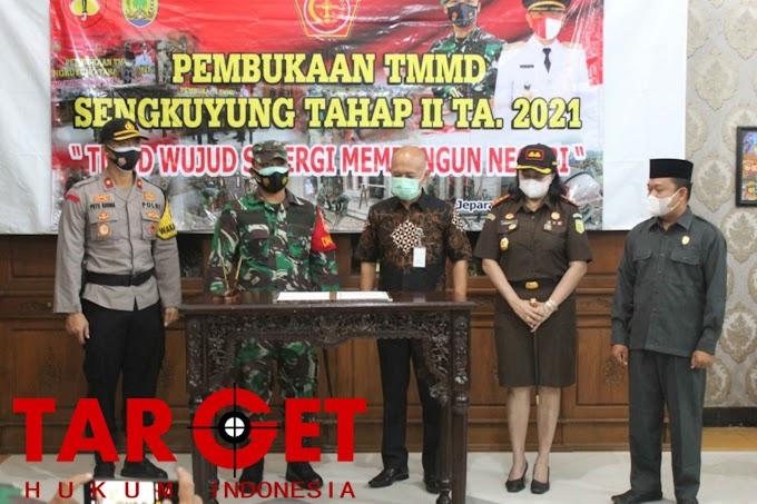 Kodim Jepara : TMMD Sengkuyung Tahap II Dimulai Fokus Bangun Jalan dan RTLH