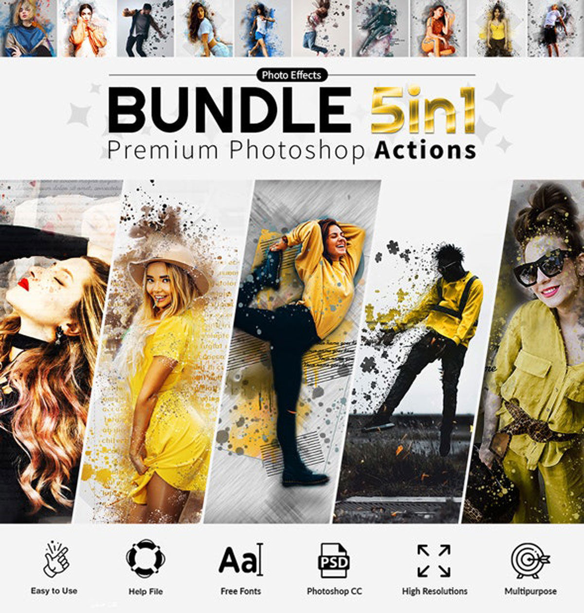 Actions Bundle 5in1 27901211