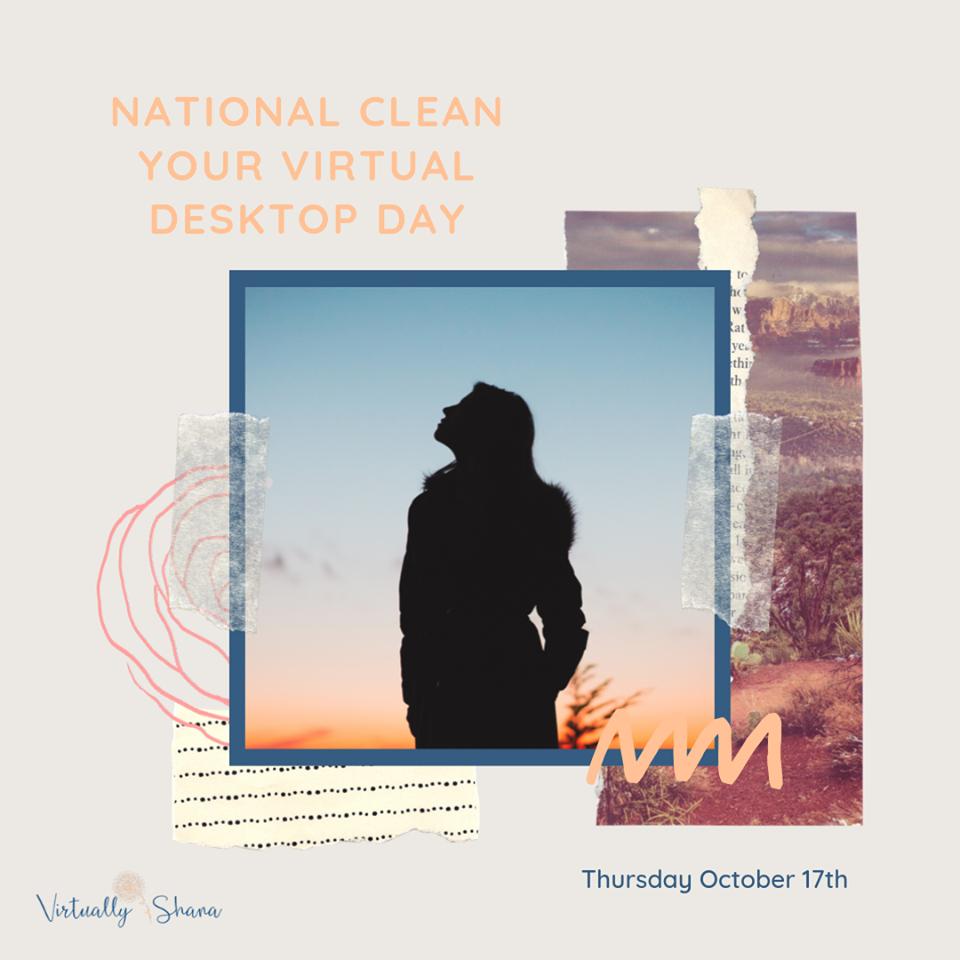 National Clean Your Virtual Desktop Wishes Unique Image