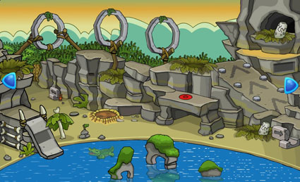 Escape the Crocodile from Cave