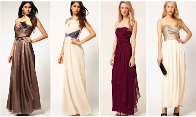 Model Dress Panjang Pesta Wanita Modern