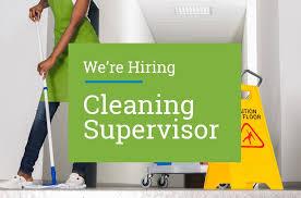 Cleaning Supervisor Job Recruitment in Dubai