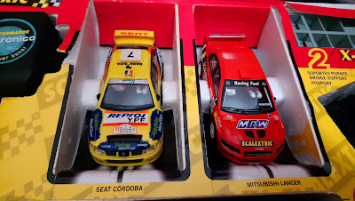 Coches del circuito Scalextric Xtreme Rally Tecnitoys
