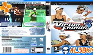 تحميل لعبة Virtua Tennis 3 psp مضغوطة لمحاكي ppsspp