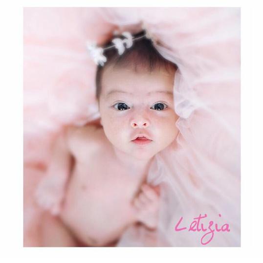 WW: Usia Sebulan Baby Maria Letizia
