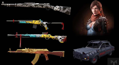 PUBG Mobile to bring in new skins for weapons