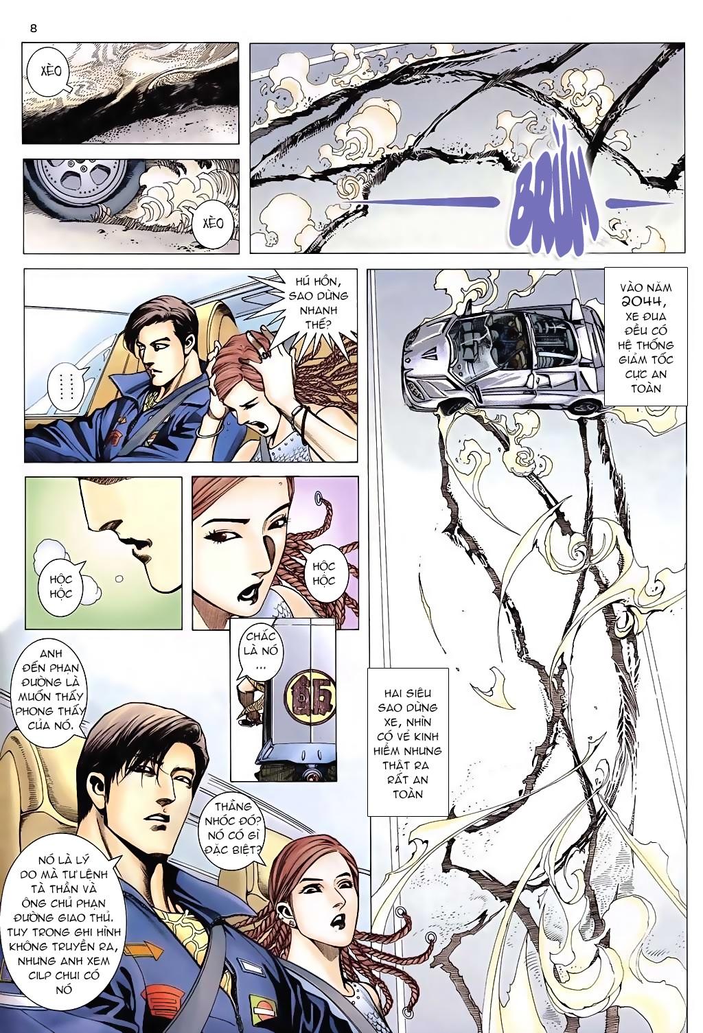 Xích Trụ Phạn Đường chap 6 - Trang 8