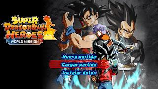 DRAGON BALL Z TENKAICHI TAG TEAM V4 PPSSPP ISO DBZ TTT