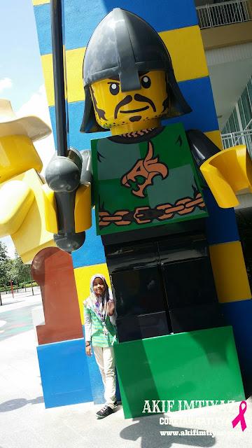 Akhirnya Dapat Juga Jejakkan Kaki Ke Legoland