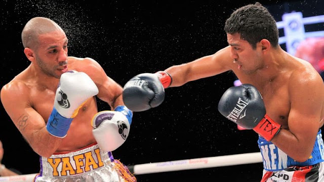 Kal yafai vs Roman Gonzalez
